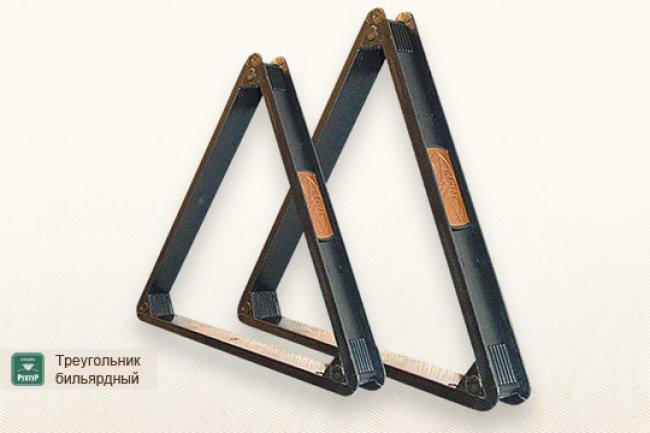 Треугольник пластмассовый