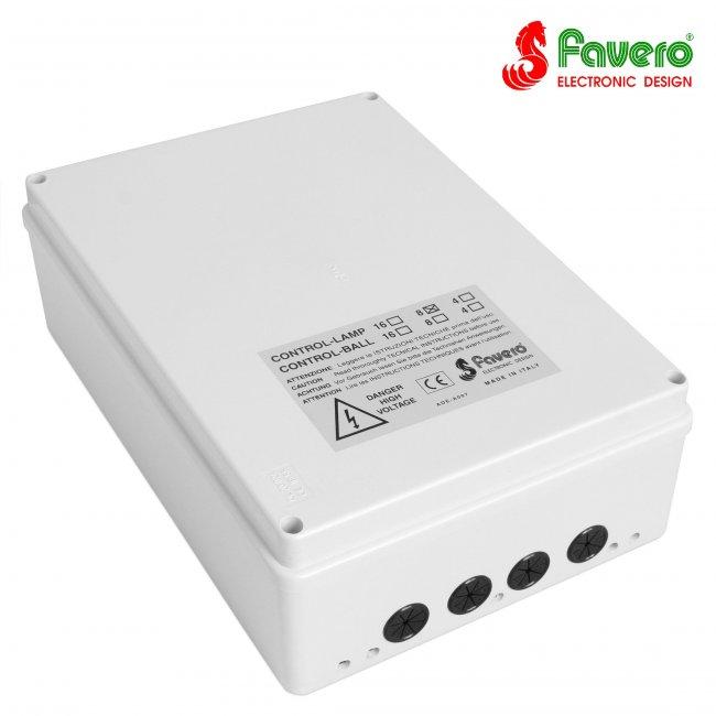 Контроль ламп до 8 столов Favero