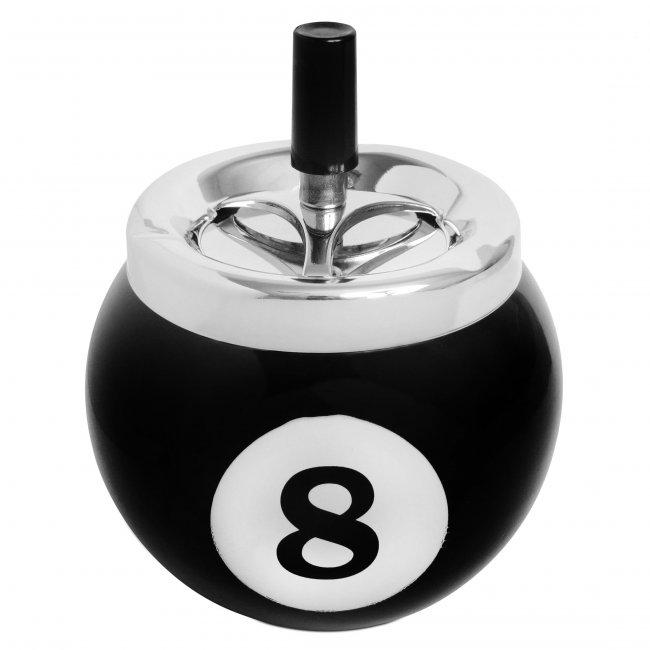 Пепельница Бильярдный шар №8