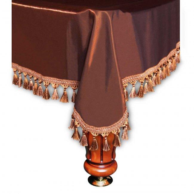 Покрывало Венеция шёлк коричневое