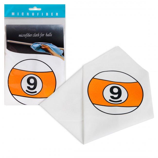 Салфетка для чистки и полировки Шар №9 34x34см микрофибра